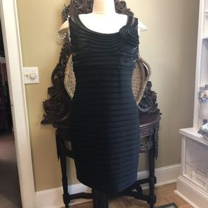 Adrianna Papell - 20W Black special occasion dress